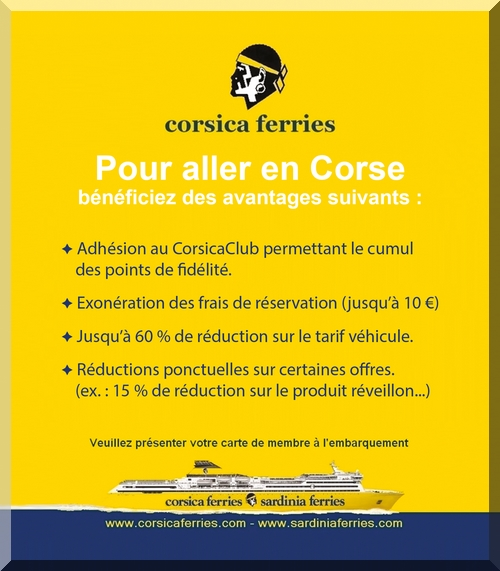 reduction corsica ferries