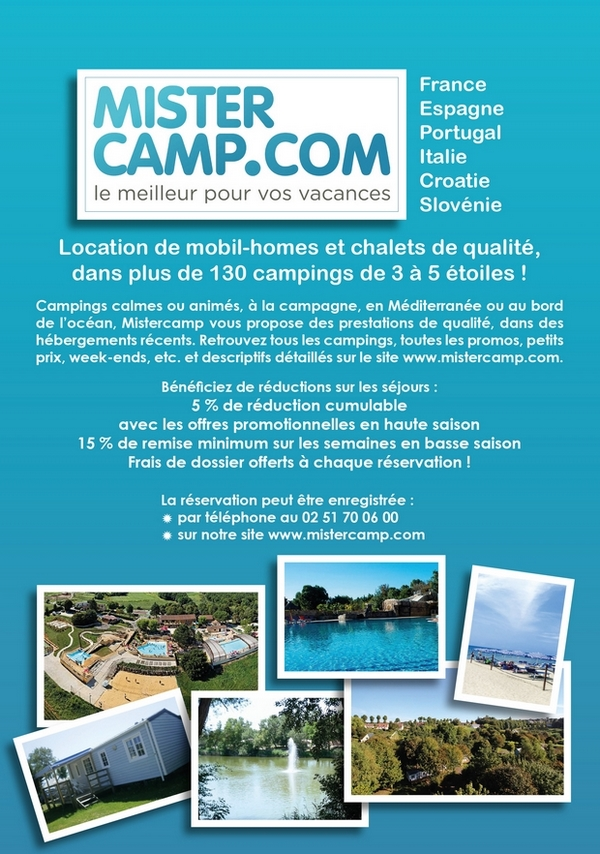 camping piscine mistercamp