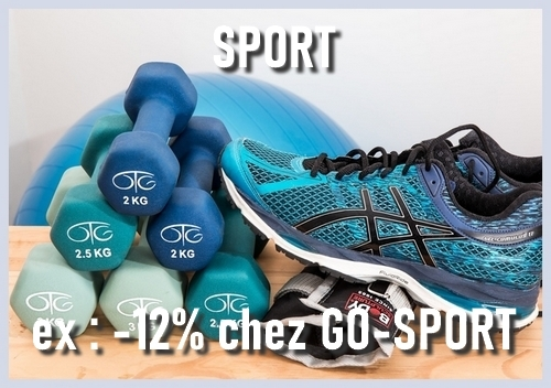 reduction carte cadeau sport